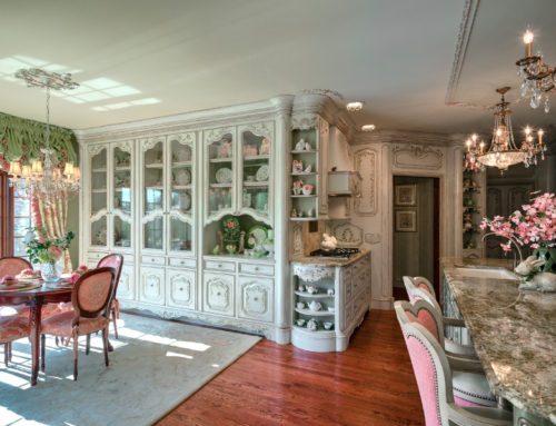 St. Charles China Cabinetry